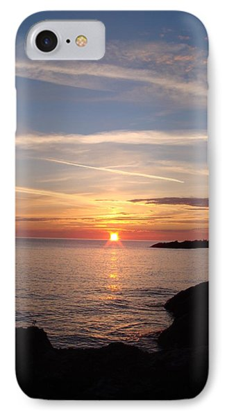 IPhone Case featuring the photograph Rising Sun by Bonfire Photography