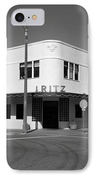 Ritz Building Eureka Ca IPhone Case by Kathleen Grace