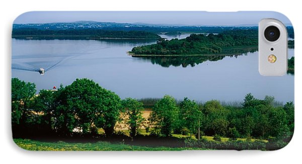 River Cruising, Upper Lough Erne Phone Case by The Irish Image Collection