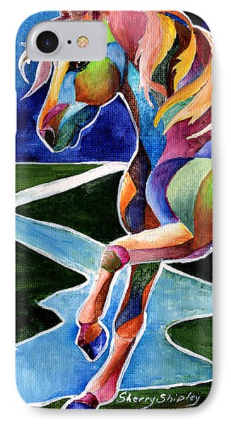 River Dance 2 IPhone Case by Sherry Shipley