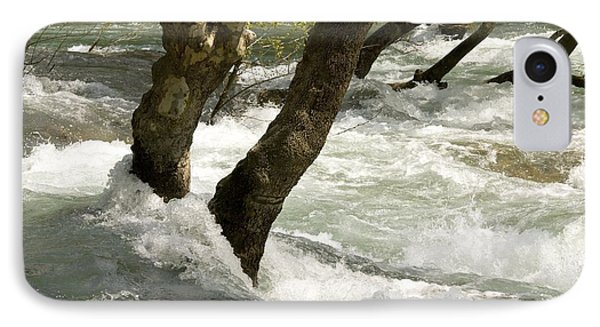 River Manavgat In Flood Phone Case by Bob Gibbons