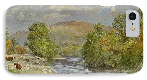 River Spey - Kinrara Phone Case by Tim Scott Bolton
