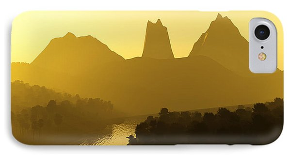 River Valley Phone Case by Svetlana Sewell