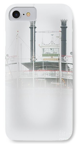 Riverboat In The Fog Phone Case by Jeremy Woodhouse