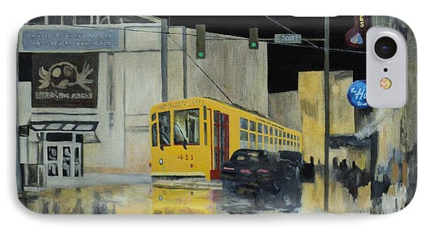 Rivermarket Streetcar 411 IPhone Case by Angelo Thomas