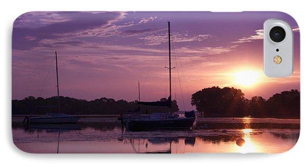 Riverside Park Sunrise IPhone Case by Joel Witmeyer