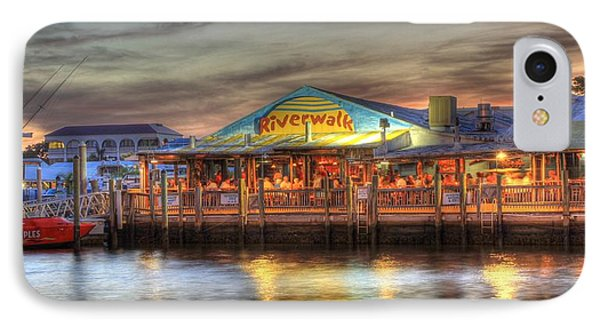 Riverwalk Phone Case by Sean Allen