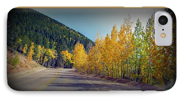 Road To Fall IPhone Case by Michelle Frizzell-Thompson