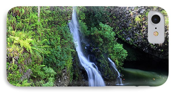 Road To Hana Waterfall Phone Case by Pierre Leclerc Photography