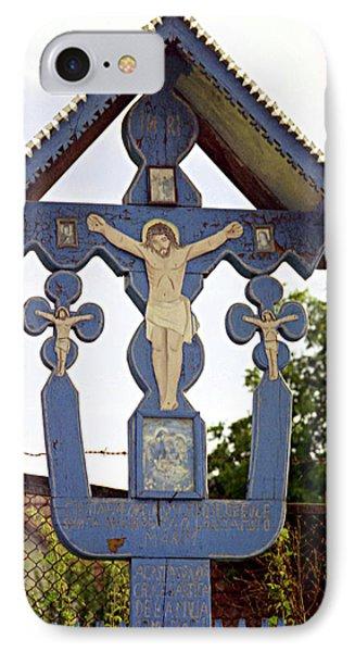 Roadside Crucifix II IPhone Case
