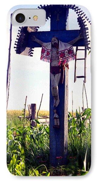 Roadside Crucifix IIi IPhone Case