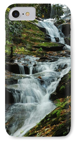 IPhone Case featuring the photograph Roaring Fork Falls by Deborah Smith