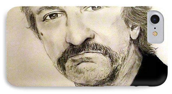 Robert De Niro In Jackie Brown  IPhone Case by Jim Fitzpatrick