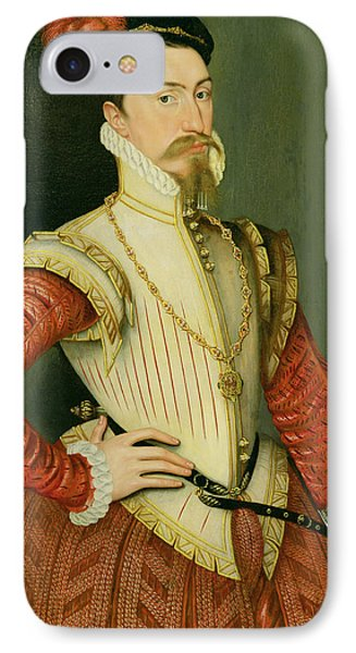 Robert Dudley - 1st Earl Of Leicester Phone Case by Steven van der Meulen