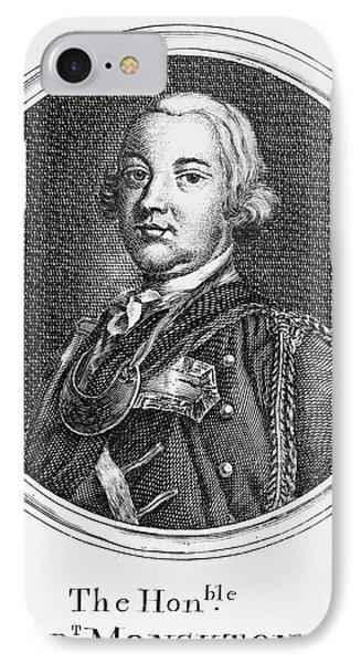 Robert Monckton (1726-1782) Phone Case by Granger