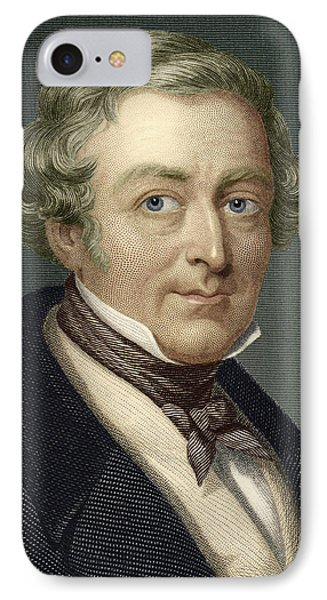 Robert Peel, British Prime Minister Phone Case by Sheila Terry