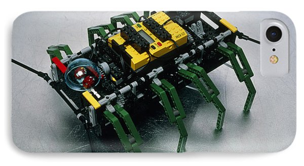 Robot Spider Constructed From Lego Phone Case by Volker Steger