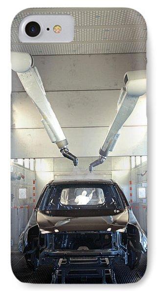 Robotic Car Production Line Phone Case by Ria Novosti