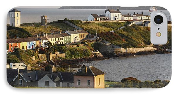 Roches Point Lighthouse In Cork Harbour Phone Case by Trish Punch
