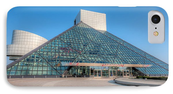 Rock And Roll Hall Of Fame II Phone Case by Clarence Holmes