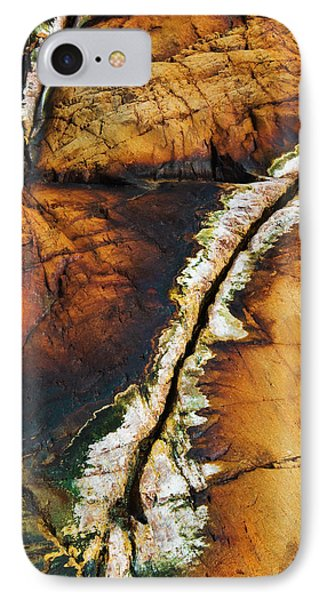 Rock Detail, Killarney Provincial Park IPhone Case