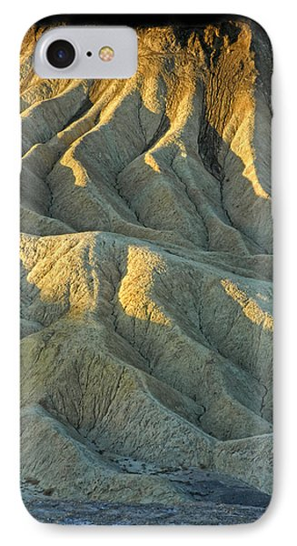 Rock Formations At Death Valley Phone Case by Dave Mills