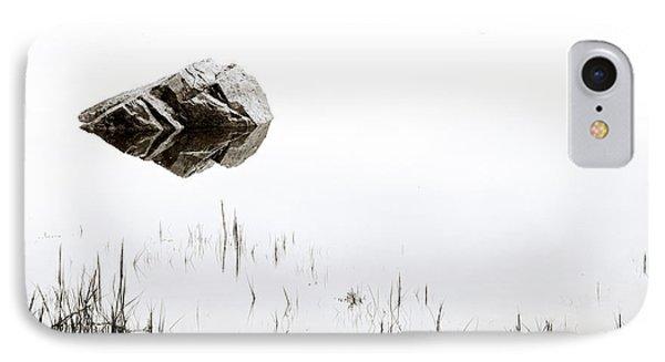 Rock In The Water IPhone Case by Steve Gadomski