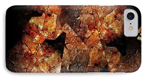 Rock Painting 6 Phone Case by Lynda Lehmann