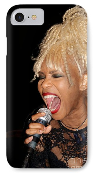 Rock Star Baby Jean Kennedy Of Mother's Finest Phone Case by Benanne Stiens