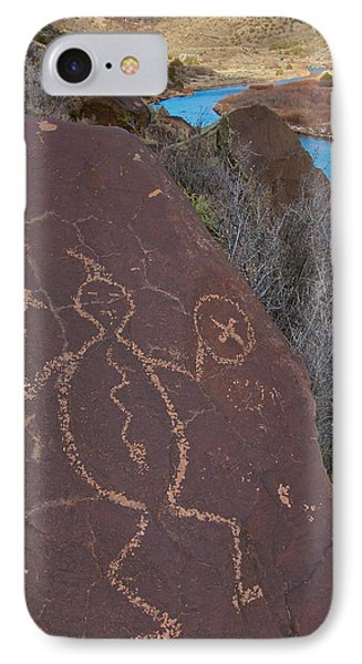 IPhone Case featuring the photograph Rock Warrior by Britt Runyon