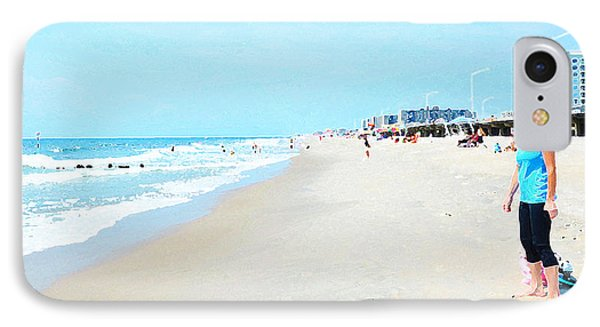 IPhone Case featuring the photograph Rockaway Beach Sparkle by Maureen E Ritter