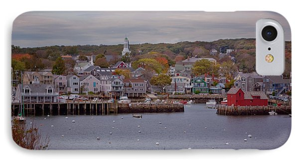 IPhone Case featuring the photograph Rockport Harbor by Tom Singleton
