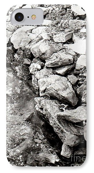 Rocks Along The Creek IPhone Case
