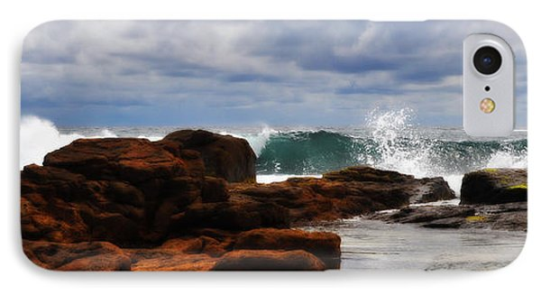 Rocks And Surf Phone Case by Phill Petrovic