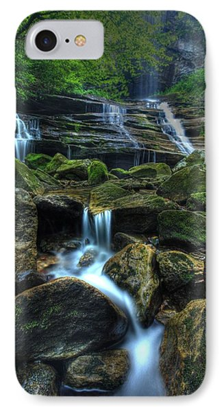 IPhone Case featuring the photograph Rocks And Water by Doug McPherson