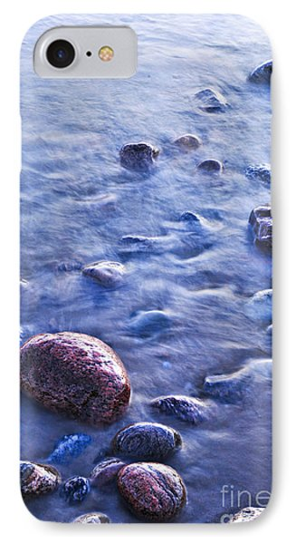 Rocks In Water Phone Case by Elena Elisseeva