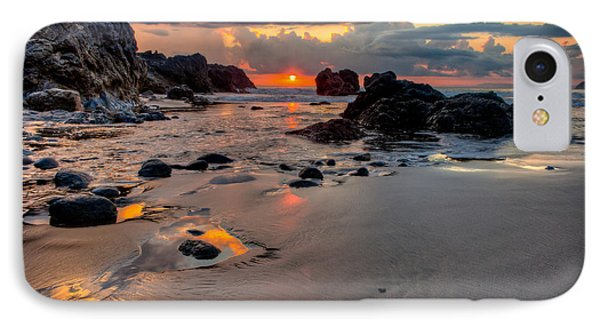 Rocky Beach In Costa Rica IPhone Case by Anthony Doudt