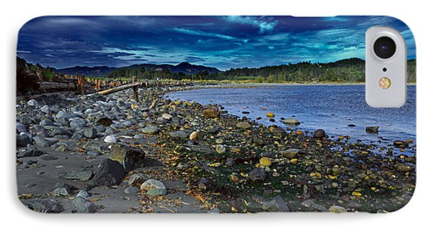 Rocky Beach In Western Canada Phone Case by Louise Heusinkveld