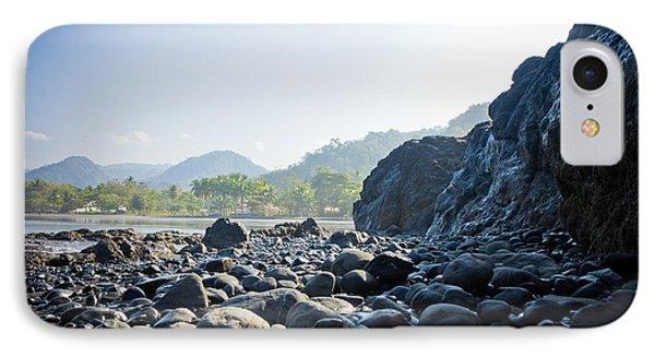 Rocky Beach Sunrise IPhone Case by Anthony Doudt