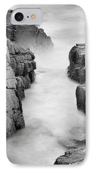 Rocky Coast Of Acadia - No 2  IPhone Case by Thomas Schoeller