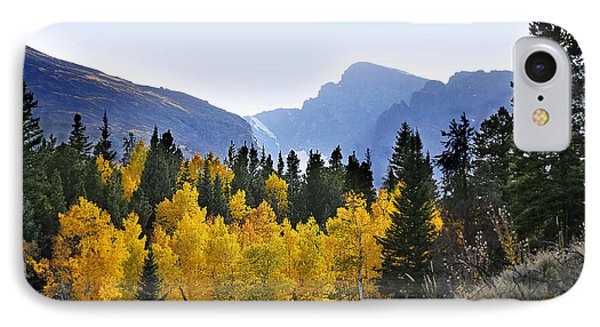 IPhone Case featuring the photograph Rocky Mountain Aspens by Nava Thompson