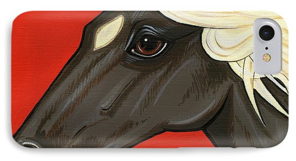 Rocky Mountain Pony Phone Case by Leanne Wilkes