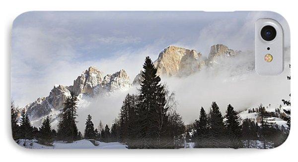 IPhone Case featuring the photograph Roda Di Vael 1 by Raffaella Lunelli