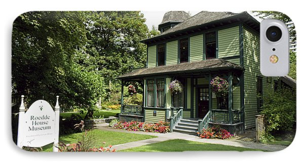 Roedde House Museum Vancouver Canada IPhone Case by John  Mitchell