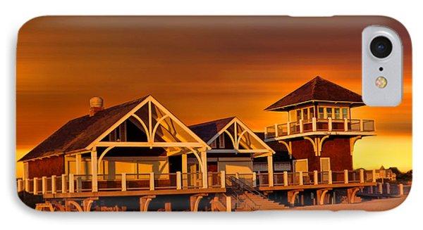 Roger W. Wheeler State Beach IPhone Case by Lourry Legarde