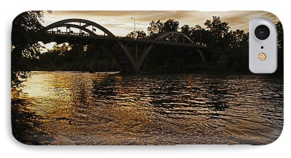 Rogue River Sunset IPhone Case by Mick Anderson
