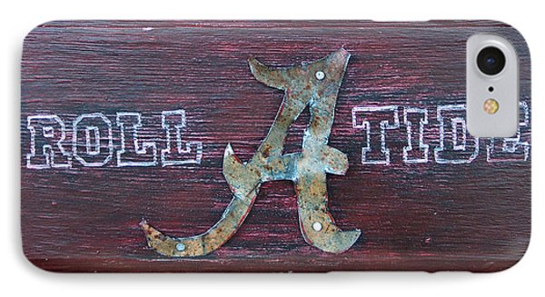 Roll Tide - Medium Phone Case by Racquel Morgan