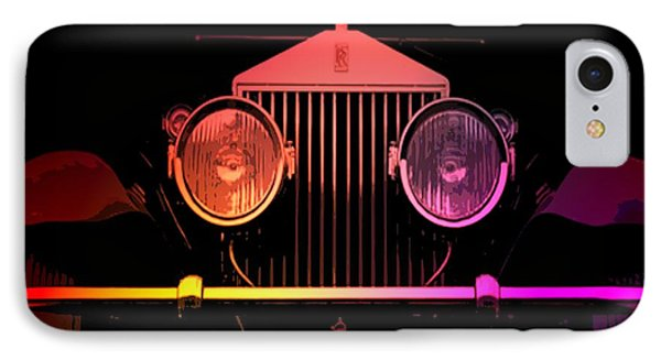 IPhone Case featuring the photograph Rolls Royce Smile by George Pedro