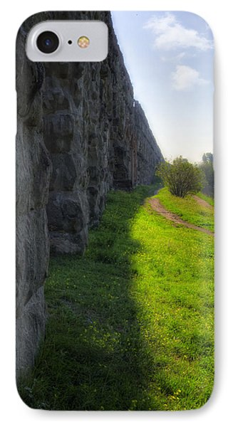 Roman Aqueducts Phone Case by Joan Carroll