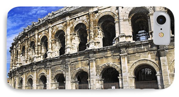 Roman Arena In Nimes France Phone Case by Elena Elisseeva